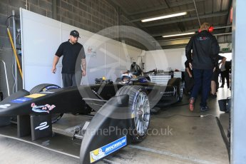 World © Octane Photographic Ltd. FIA Formula E testing – Donington Park 11th August 2015, Virgin DSV-01. DS Virgin Racing – Sam Bird. Digital Ref : 1367LB1D5037