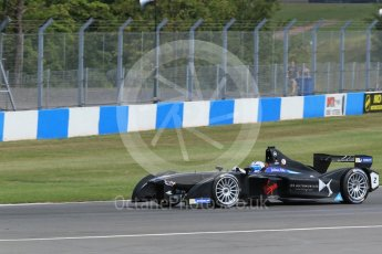World © Octane Photographic Ltd. FIA Formula E testing – Donington Park 11th August 2015, Virgin DSV-01. DS Virgin Racing – Sam Bird. Digital Ref : 1367LB1D5060