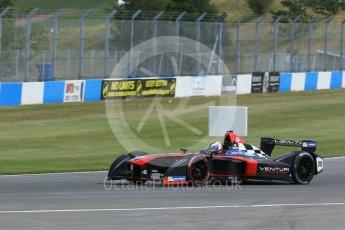 World © Octane Photographic Ltd. FIA Formula E testing – Donington Park 11th August 2015, Venturi VM200-FE-01. Venturi – Stephane Sarrazin. Digital Ref : 1367LB1D5072