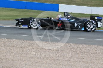World © Octane Photographic Ltd. FIA Formula E testing – Donington Park 11th August 2015, Virgin DSV-01. DS Virgin Racing – Jean-Eric Vergne. Digital Ref : 1367LB1D5085