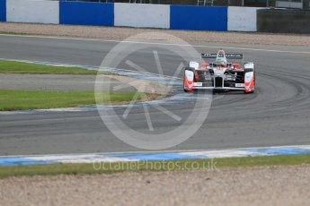 World © Octane Photographic Ltd. FIA Formula E testing – Donington Park 11th August 2015, Mahindra M2ELECTRO. Mahindra – Bruno Senna. Digital Ref : 1367LB1D5097