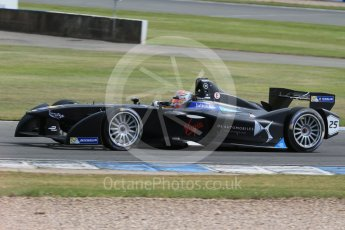 World © Octane Photographic Ltd. FIA Formula E testing – Donington Park 11th August 2015, Virgin DSV-01. DS Virgin Racing – Jean-Eric Vergne. Digital Ref : 1367LB1D5157