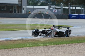 World © Octane Photographic Ltd. FIA Formula E testing – Donington Park 11th August 2015, Virgin DSV-01. DS Virgin Racing – Jean-Eric Vergne. Digital Ref : 1367LB1D5168