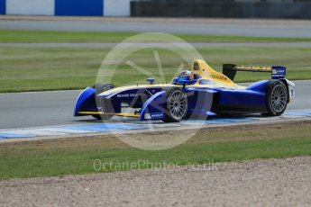 World © Octane Photographic Ltd. FIA Formula E testing – Donington Park 11th August 2015, Renault Z.E.15. Renault e.Dams – Sebastien Buemi. Digital Ref : 1367LB1D5198