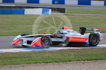 World © Octane Photographic Ltd. FIA Formula E testing – Donington Park 11th August 2015, Mahindra M2ELECTRO. Mahindra – Bruno Senna. Digital Ref : 1367LB1D5217