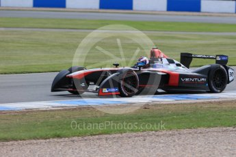 World © Octane Photographic Ltd. FIA Formula E testing – Donington Park 11th August 2015, Venturi VM200-FE-01. Venturi – Stephane Sarrazin. Digital Ref : 1367LB1D5257
