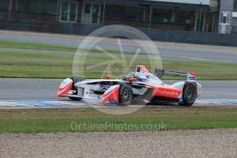 World © Octane Photographic Ltd. FIA Formula E testing – Donington Park 11th August 2015, Mahindra M2ELECTRO. Mahindra – Bruno Senna. Digital Ref : 1367LB1D5291