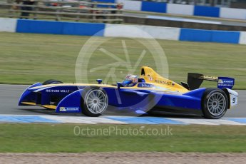 World © Octane Photographic Ltd. FIA Formula E testing – Donington Park 11th August 2015, Renault Z.E.15. Renault e.Dams – Sebastien Buemi. Digital Ref : 1367LB1D5335