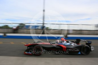 World © Octane Photographic Ltd. FIA Formula E testing – Donington Park 11th August 2015, Venturi VM200-FE-01. Venturi – Stephane Sarrazin. Digital Ref : 1367LB5D2435