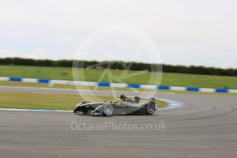 World © Octane Photographic Ltd. FIA Formula E testing – Donington Park 11th August 2015, SRT01-e. Team Aguri – Tom Dillmann. Digital Ref : 1367LB5D2439