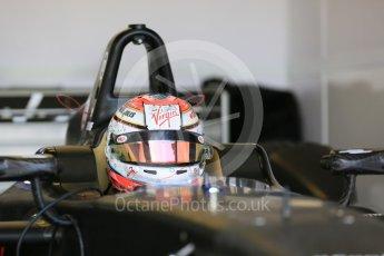 World © Octane Photographic Ltd. FIA Formula E testing – Donington Park 11th August 2015, Virgin DSV-01. DS Virgin Racing – Jean-Eric Vergne. Digital Ref : 1367LB5D2536