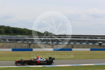 World © Octane Photographic Ltd. FIA Formula E testing – Donington Park 11th August 2015, Venturi VM200-FE-01. Venturi – Stephane Sarrazin. Digital Ref : 1367LB5D2621