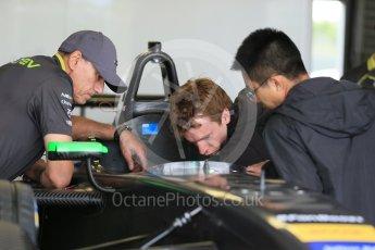 World © Octane Photographic Ltd. FIA Formula E testing – Donington Park 17th August 2015, NEXTEV TCR FormulaE 001. NEXTEV TCR – Oliver Turvey. Digital Ref : 1368LB1D5425