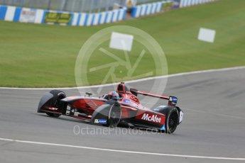 World © Octane Photographic Ltd. FIA Formula E testing – Donington Park 17th August 2015, Venturi VM200-FE-01. Dragon Racing – Loic Duval. Digital Ref : 1368LB1D5552