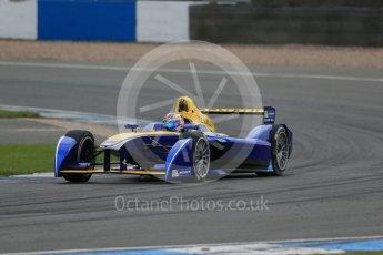 World © Octane Photographic Ltd. FIA Formula E testing – Donington Park 17th August 2015, Renault Z.E.15. Renault e.Dams – Sebastien Buemi. Digital Ref : 1368LB1D5595