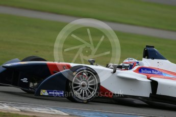 World © Octane Photographic Ltd. FIA Formula E testing – Donington Park 17th August 2015, SRT01-e. Team Aguri – Nicolas Lapierre. Digital Ref : 1368LB1D5610