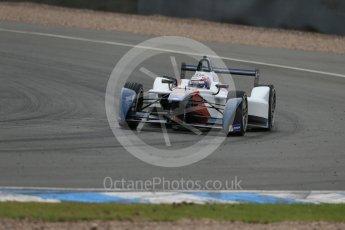 World © Octane Photographic Ltd. FIA Formula E testing – Donington Park 17th August 2015, SRT01-e. Team Aguri – Nicolas Lapierre. Digital Ref : 1368LB1D5621