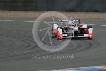 World © Octane Photographic Ltd. FIA Formula E testing – Donington Park 17th August 2015, Mahindra M2ELECTRO. Mahindra – Bruno Senna. Digital Ref : 1368LB1D5692