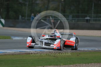 World © Octane Photographic Ltd. FIA Formula E testing – Donington Park 17th August 2015, Mahindra M2ELECTRO. Mahindra – Nick Heidfeld. Digital Ref : 1368LB1D5729