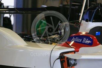 World © Octane Photographic Ltd. FIA Formula E testing – Donington Park 17th August 2015, SRT01-e. Team Aguri – Nicolas Lapierre. Digital Ref : 1368LB1D5844