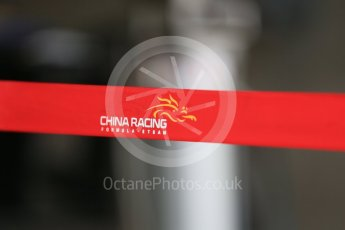 World © Octane Photographic Ltd. FIA Formula E testing – Donington Park 17th August 2015, Virgin DSV-01. China Racing logo from season 1. Digital Ref : 1368LB1D5855