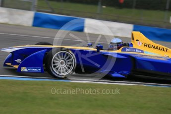 World © Octane Photographic Ltd. FIA Formula E testing – Donington Park 17th August 2015, Renault Z.E.15. Renault e.Dams – Nicolas Prost. Digital Ref : 1368LB1D5886