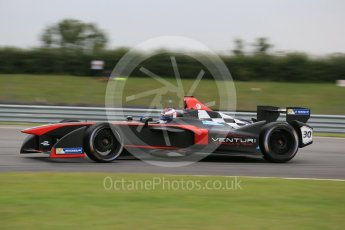 World © Octane Photographic Ltd. FIA Formula E testing – Donington Park 17th August 2015, Venturi VM200-FE-01. Venturi – Stephane Sarrazin. Digital Ref : 1368LB1D6012