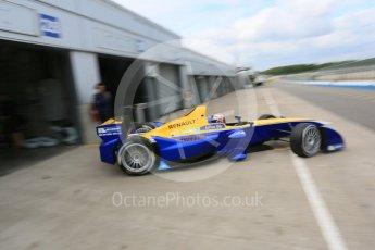 World © Octane Photographic Ltd. FIA Formula E testing – Donington Park 17th August 2015, Renault Z.E.15. Renault e.Dams – Sebastien Buemi. Digital Ref : 1368LB5D2666