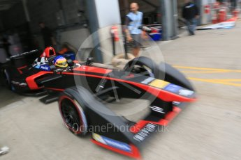 World © Octane Photographic Ltd. FIA Formula E testing – Donington Park 17th August 2015, Venturi VM200-FE-01. Venturi – Jacques Villeneuve. Digital Ref : 1368LB5D2698