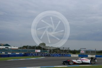 World © Octane Photographic Ltd. FIA Formula E testing – Donington Park 17th August 2015, SRT01-e. Team Aguri – Nicolas Lapierre. Digital Ref : 1368LB5D2798