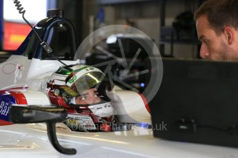 World © Octane Photographic Ltd. FIA Formula E testing – Donington Park 18th August 2015, SRT01-e. Team Aguri – Nathanael Berthon. Digital Ref : 1369LB1D6183