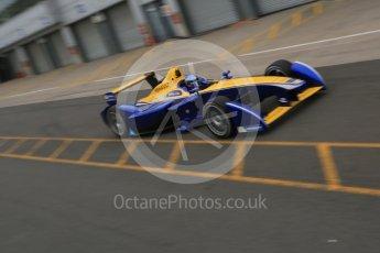 World © Octane Photographic Ltd. FIA Formula E testing – Donington Park 18th August 2015, Renault Z.E.15. Renault e.Dams – Nicolas Prost. Digital Ref : 1369LB5D6139