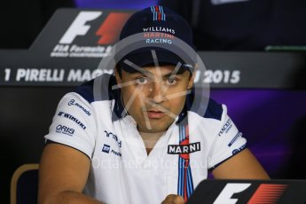 World © Octane Photographic Ltd. FIA Drivers' Press Conference. Thursday 23rd July 2015, F1 Hungarian GP, Hungaroring, Hungary. Sauber F1 Team – Felipe Nasr. Digital Ref: 1345LB1D7222