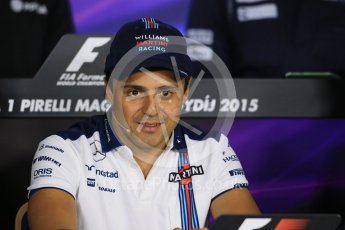 World © Octane Photographic Ltd. FIA Drivers' Press Conference. Thursday 23rd July 2015, F1 Hungarian GP, Hungaroring, Hungary. Sauber F1 Team – Felipe Nasr. Digital Ref: 1345LB1D7358