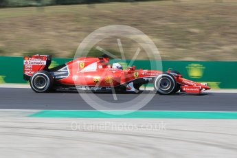 World © Octane Photographic Ltd. Scuderia Ferrari SF15-T– Sebastian Vettel. Friday 24th July 2015, F1 Hungarian GP Practice 2, Hungaroring, Hungary. Digital Ref: 1348CB1L5337