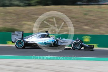 World © Octane Photographic Ltd. Mercedes AMG Petronas F1 W06 Hybrid – Lewis Hamilton. Friday 24th July 2015, F1 Hungarian GP Practice 2, Hungaroring, Hungary. Digital Ref: 1348CB1L5347