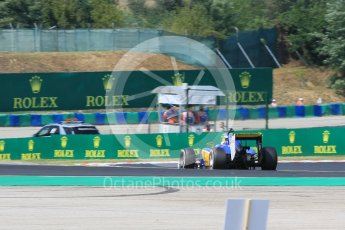 World © Octane Photographic Ltd. Sauber F1 Team C34-Ferrari – Marcus Ericsson. Friday 24th July 2015, F1 Hungarian GP Practice 2, Hungaroring, Hungary. Digital Ref: 1348CB1L5356