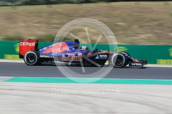 World © Octane Photographic Ltd. Scuderia Toro Rosso STR10 – Max Verstappen. Friday 24th July 2015, F1 Hungarian GP Practice 2, Hungaroring, Hungary. Digital Ref: 1348CB1L5383