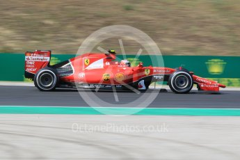 World © Octane Photographic Ltd. Scuderia Ferrari SF15-T– Kimi Raikkonen. Friday 24th July 2015, F1 Hungarian GP Practice 2, Hungaroring, Hungary. Digital Ref: 1348CB1L5399