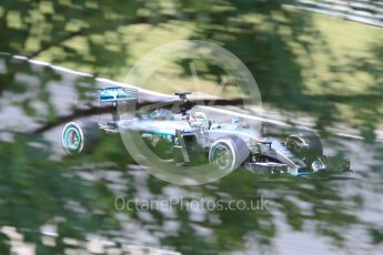 World © Octane Photographic Ltd. Mercedes AMG Petronas F1 W06 Hybrid – Lewis Hamilton. Friday 24th July 2015, F1 Hungarian GP Practice 2, Hungaroring, Hungary. Digital Ref: 1348CB1L5460