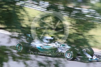 World © Octane Photographic Ltd. Mercedes AMG Petronas F1 W06 Hybrid – Nico Rosberg. Friday 24th July 2015, F1 Hungarian GP Practice 2, Hungaroring, Hungary. Digital Ref: 1348CB1L5474