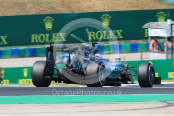 World © Octane Photographic Ltd. Mercedes AMG Petronas F1 W06 Hybrid – Lewis Hamilton. Friday 24th July 2015, F1 Hungarian GP Practice 2, Hungaroring, Hungary. Digital Ref: 1348CB7D8159