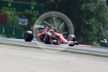 World © Octane Photographic Ltd. Scuderia Ferrari SF15-T– Sebastian Vettel. Friday 24th July 2015, F1 Hungarian GP Practice 2, Hungaroring, Hungary. Digital Ref: 1348LB1D8648