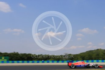 World © Octane Photographic Ltd. Manor Marussia F1 Team MR03B – Roberto Merhi. Friday 24th July 2015, F1 Hungarian GP Practice 2, Hungaroring, Hungary. Digital Ref: 1348LB5D0450