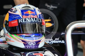 World © Octane Photographic Ltd. Infiniti Red Bull Racing RB11 – Daniel Ricciardo. Saturday 25th July 2015, F1 Hungarian GP Practice 3, Hungaroring, Hungary. Digital Ref: 1352LB1D0051