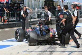 World © Octane Photographic Ltd. McLaren Honda MP4/30 – Fernando Alonso. Saturday 25th July 2015, F1 Hungarian GP Practice 3, Hungaroring, Hungary. Digital Ref: 1352LB1D0094