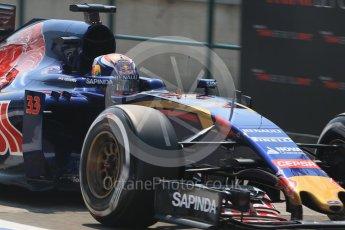World © Octane Photographic Ltd. Scuderia Toro Rosso STR10 – Max Verstappen. Saturday 25th July 2015, F1 Hungarian GP Practice 3, Hungaroring, Hungary. Digital Ref: 1352LB1D0471
