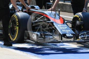 World © Octane Photographic Ltd. McLaren Honda MP4/30 – Fernando Alonso. Saturday 25th July 2015, F1 Hungarian GP Practice 3, Hungaroring, Hungary. Digital Ref: 1352LB1D9712