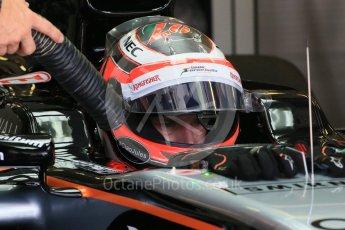 World © Octane Photographic Ltd. Sahara Force India VJM08B – Nico Hulkenberg. Saturday 25th July 2015, F1 Hungarian GP Practice 3, Hungaroring, Hungary. Digital Ref: 1352LB1D9805
