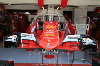 World © Octane Photographic Ltd. Scuderia Ferrari SF15-T– Kimi Raikkonen. Saturday 25th July 2015, F1 Hungarian GP Practice 3, Hungaroring, Hungary. Digital Ref: 1352LB5D0736